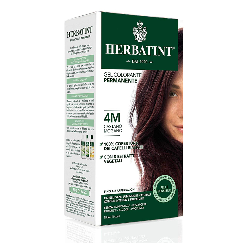 HERBATINT PERMANENT HAIR COLOUR – 4M MAHOGANY CHESTNUT 150ML
