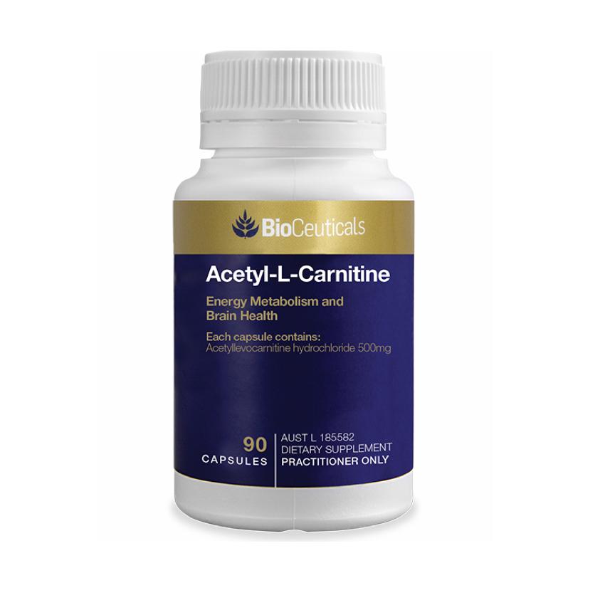 BIOCEUTICALS ACETYL L-CARNITINE 90C