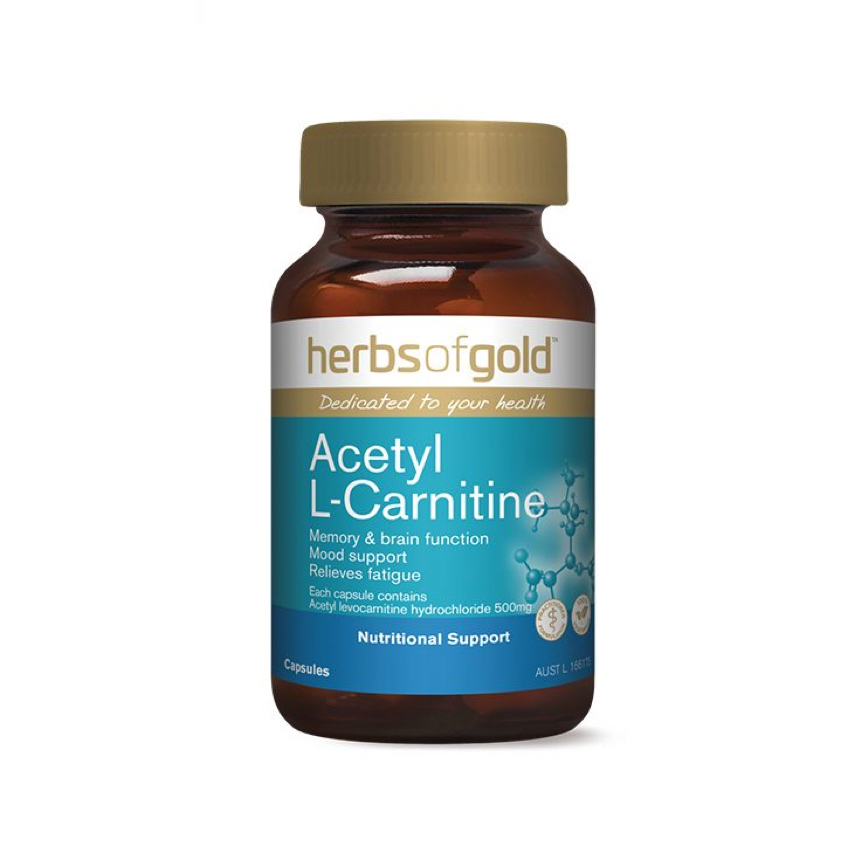 HERBS OF GOLD ACETYL L-CARNITINE 120C