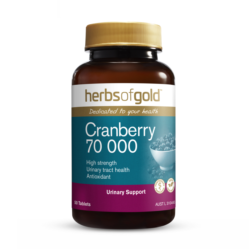HERBS OF GOLD CRANBERRY 70000 50T