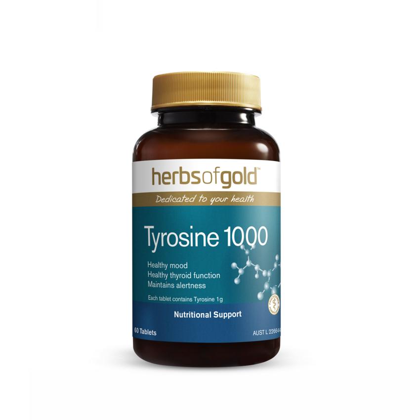 HERBS OF GOLD TYROSINE 60T