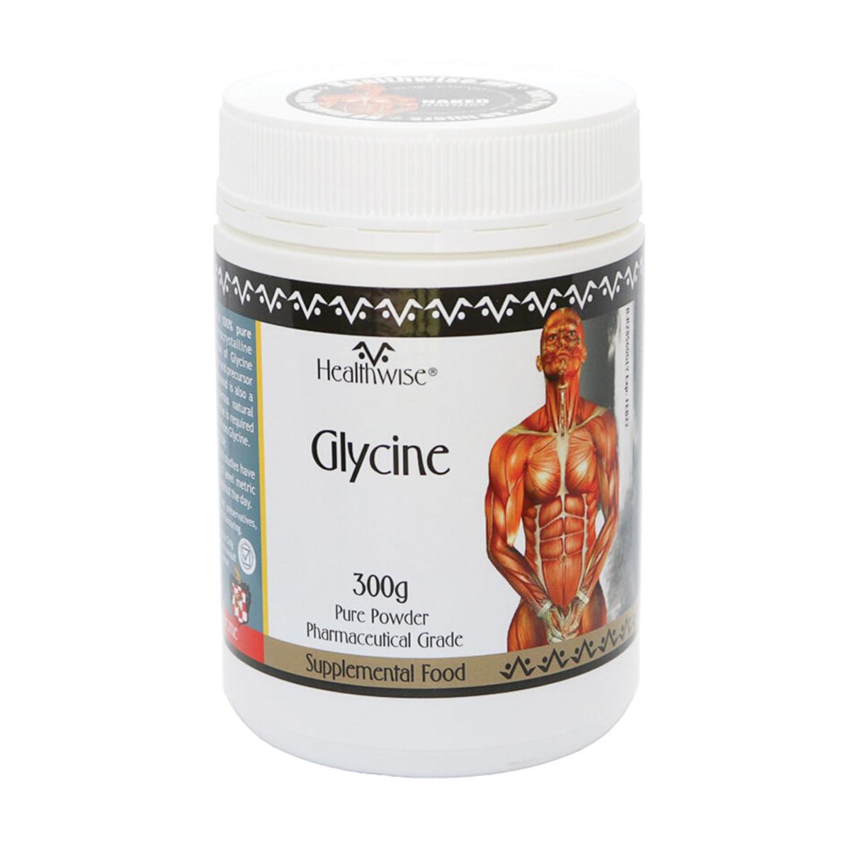 HEALTHWISE GLYCINE 300G
