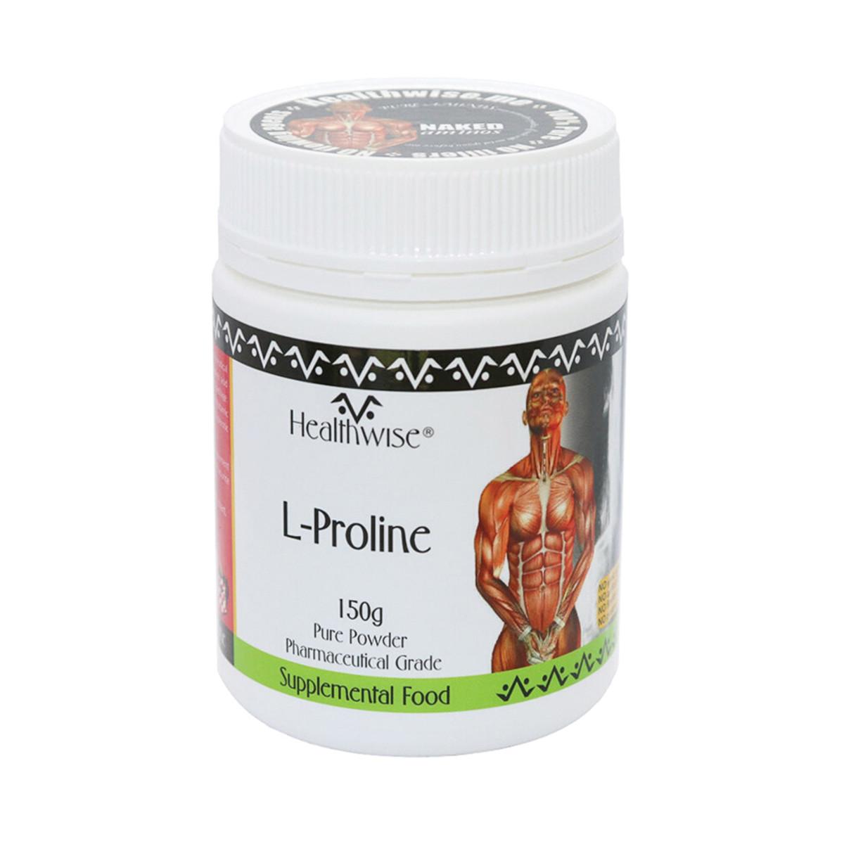 HEALTHWISE L-PROLINE 150G