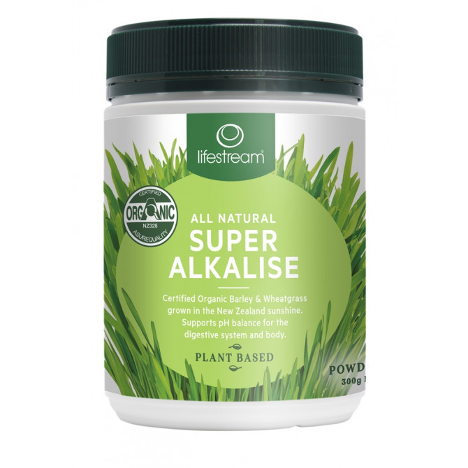 LIFESTREAM SUPER ALKALISE POWDER ORG 300G