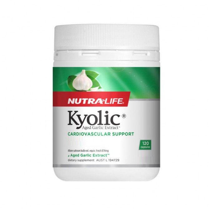 NUTRALIFE KYOLIC AGED GARLIC EXTRACT 120C