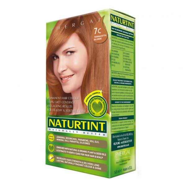 NATURTINT PERMANENT HAIR COLOUR – 7C TERRACOTTA BLONDE