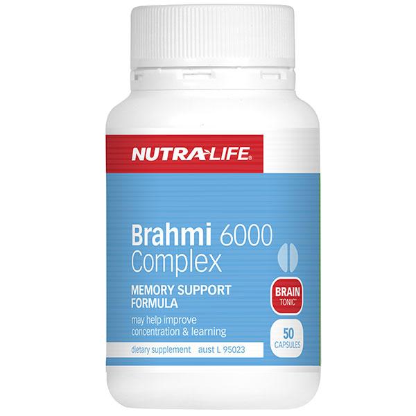 NUTRALIFE BRAHMI 6000 COMPLEX 50C