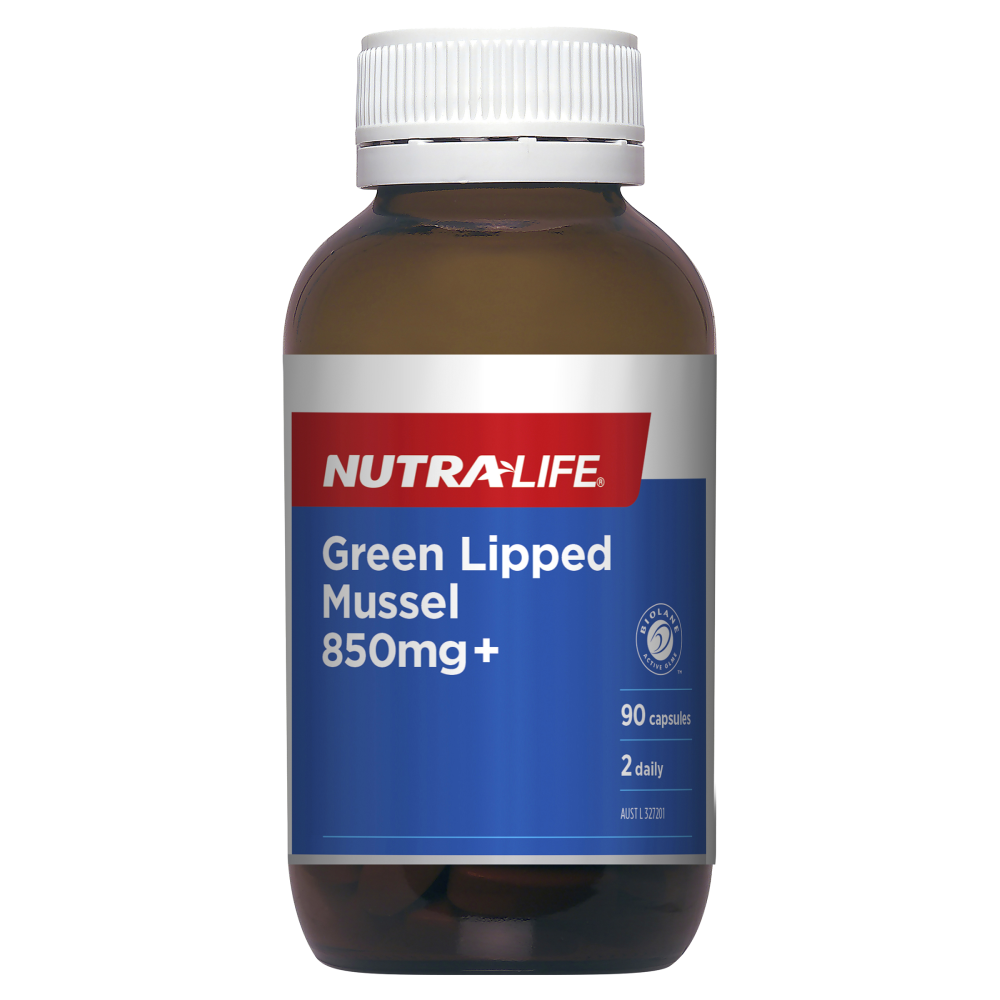 NUTRALIFE GREEN LIPPED MUSSEL 850MG+ 90C