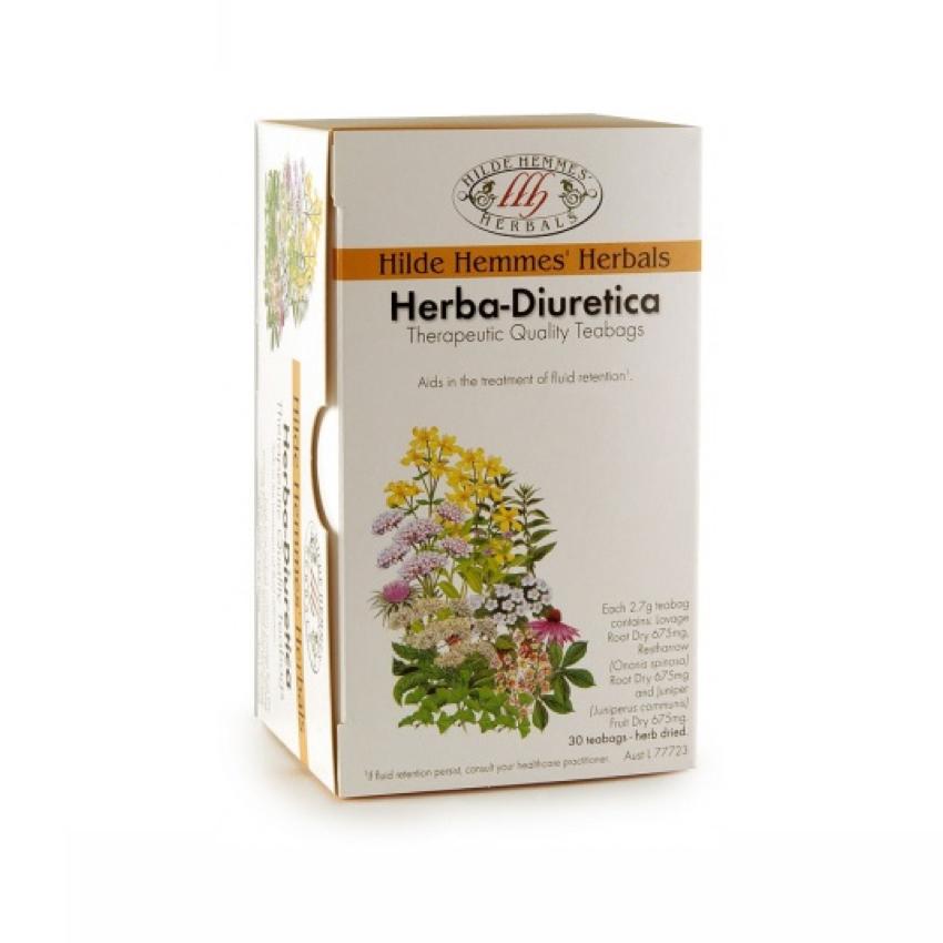 HILDE HEMMES HERBA-DIURETICA 30TB