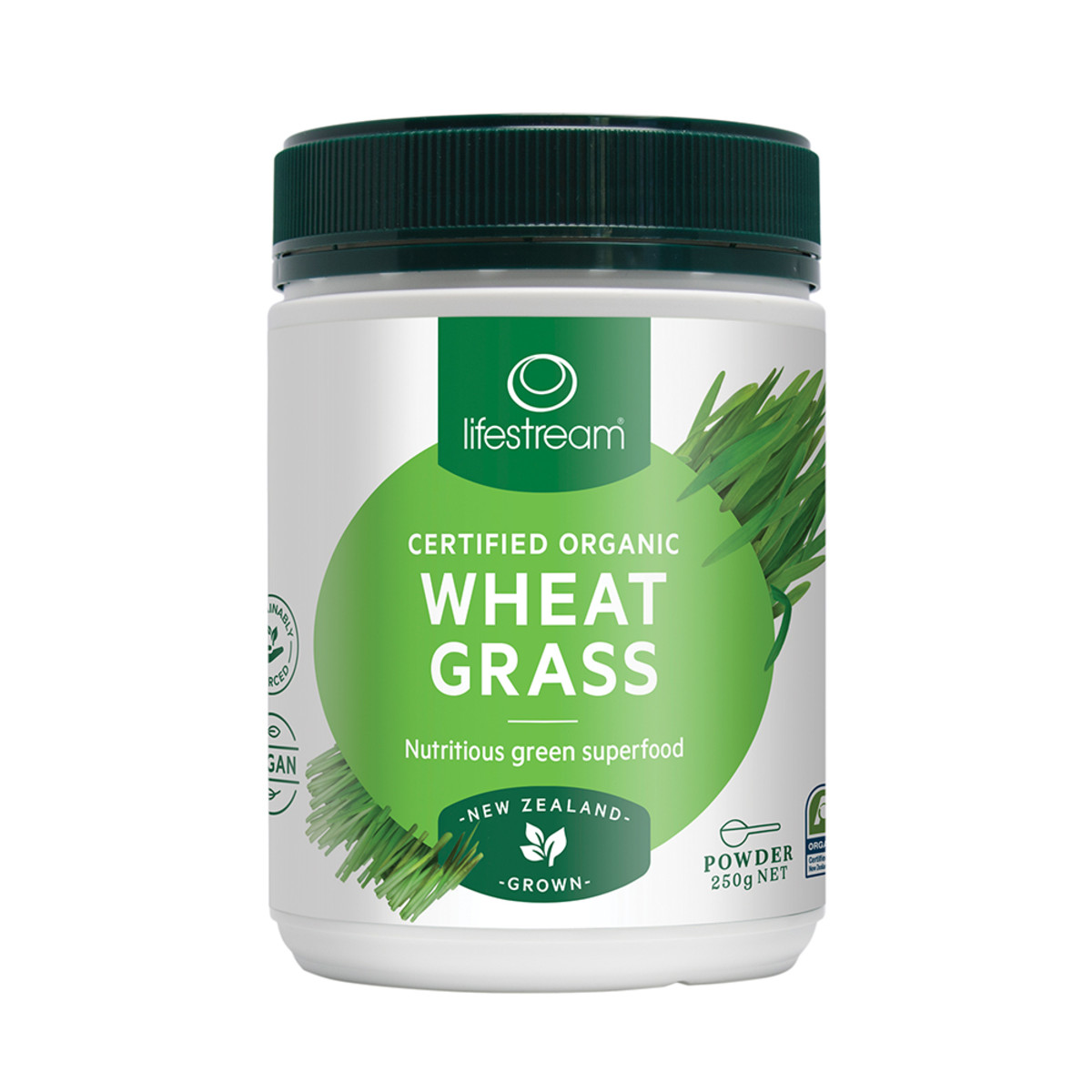 LIFESTREAM WHEAT GRASS PDR 250G