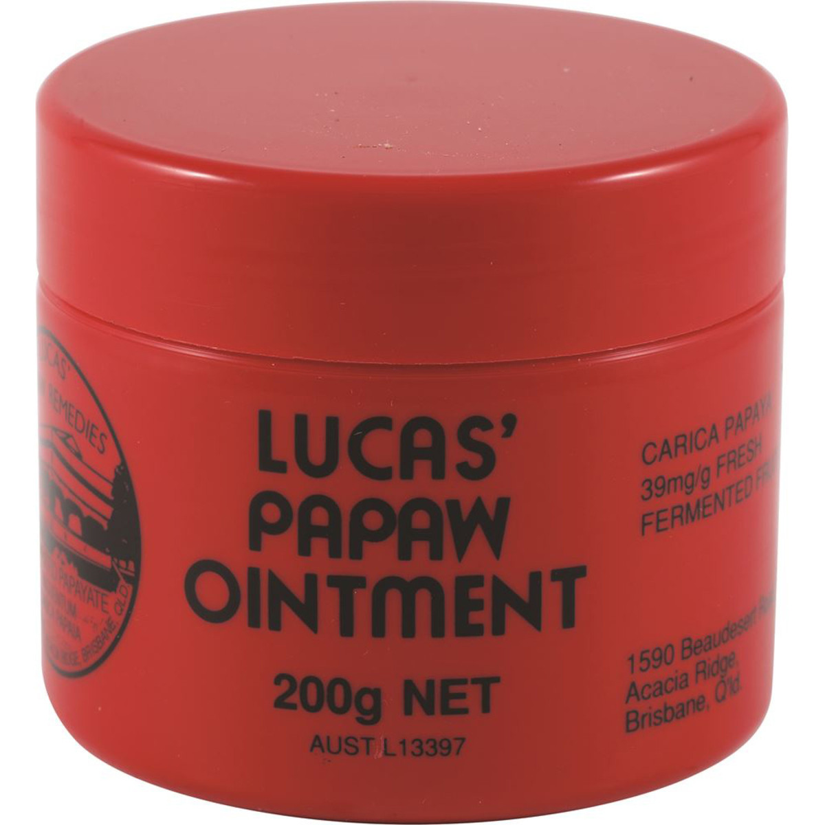 LUCAS' PAWPAW REMEDIES PAPAW OINTMENT 200G