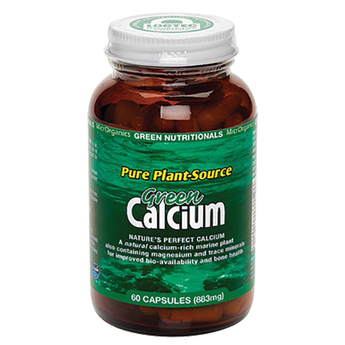 MICRORGANICS GREEN NUTRITIONALS GREEN CALCIUM 60C