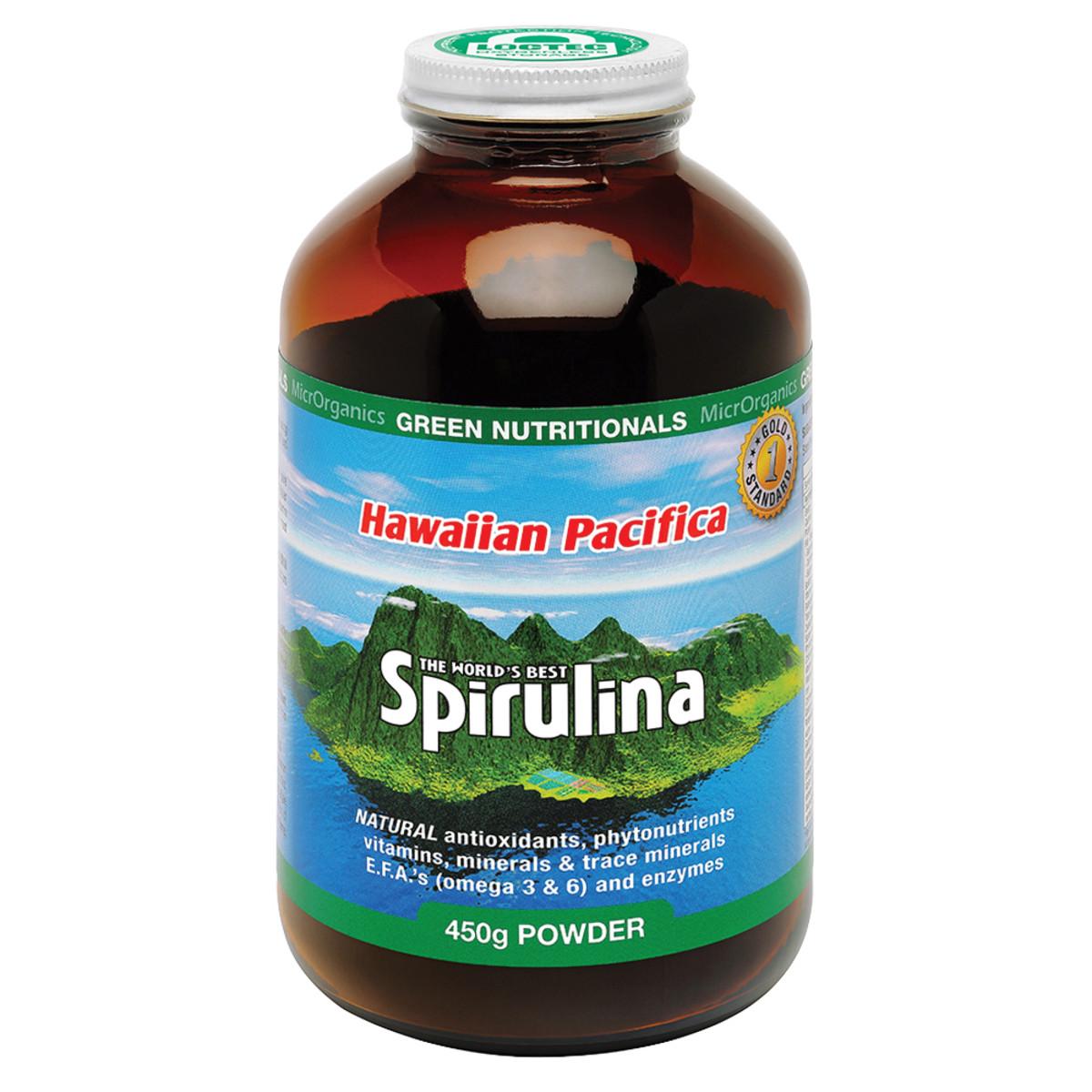MICRORGANICS GREEN NUTRITIONALS HAWAIIAN PACIFICA SPIRULINA 450G
