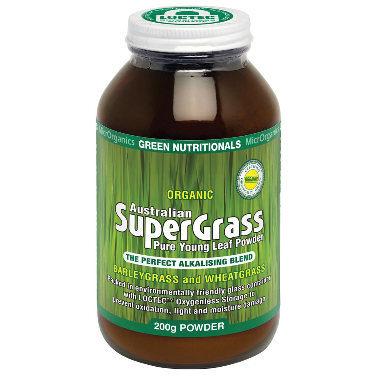 MICRORGANICS GREEN NUTRITIONALS SUPER GRASS 200G