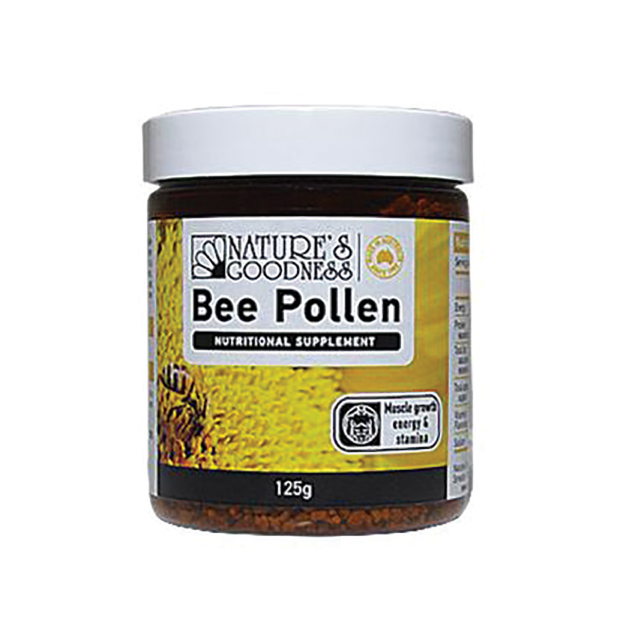NATURE'S GOODNESS POLLEN GRANULES 125G