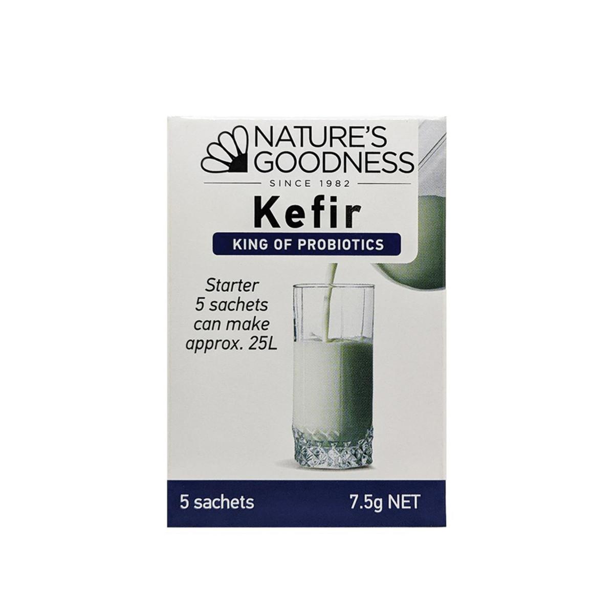NATURE'S GOODNESS KEFIR TURKISH YOGHURT PROBIOTIC 7.5G