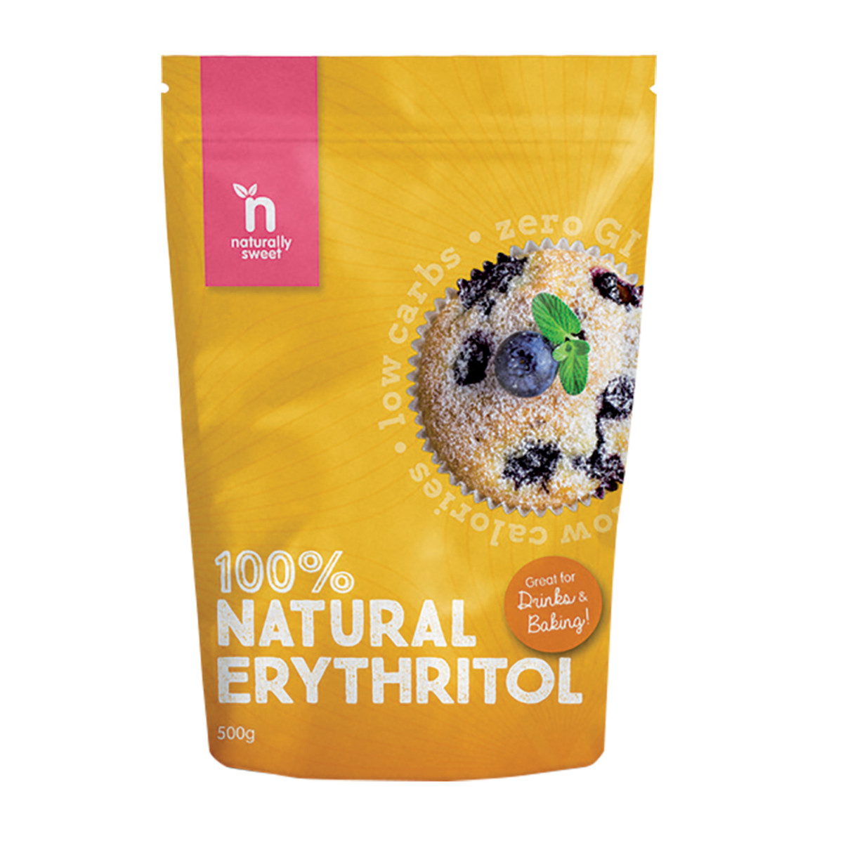 NATURALLY SWEET ERYTHRITOL 500G