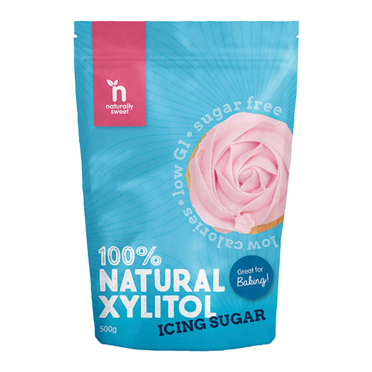 NATURALLY SWEET XYLITOL ICING MIX 50OGM