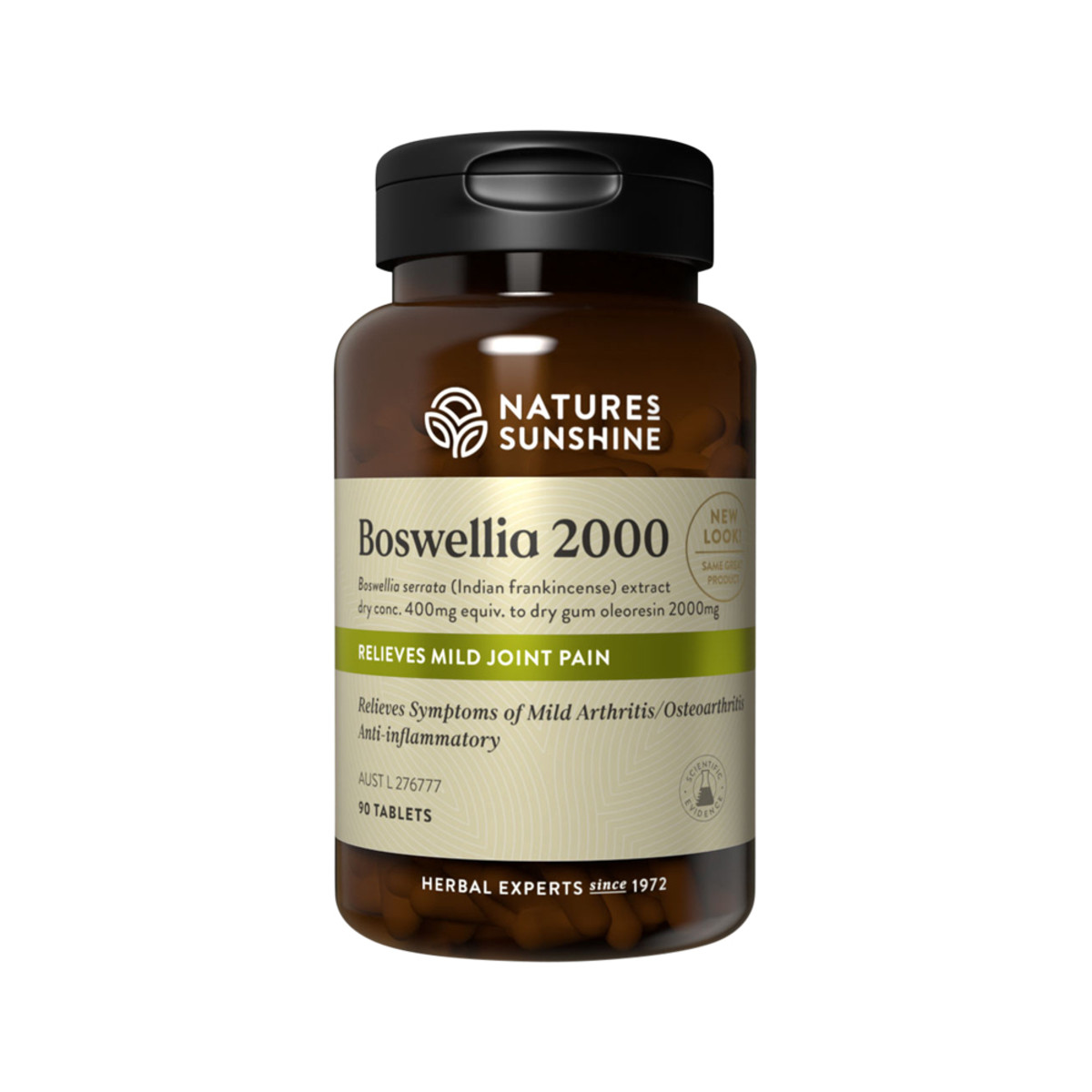 NATURE'S SUNSHINE BOSWELLIA 2000 90T