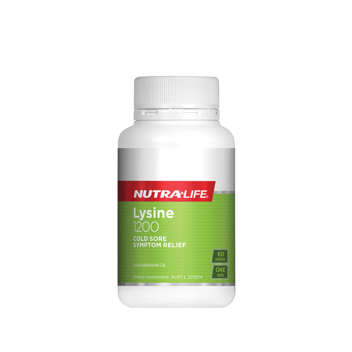 NUTRALIFE LYSINE 1200MG 60T