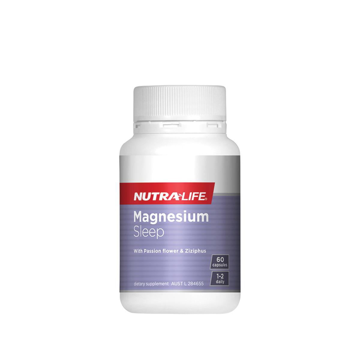 NUTRALIFE MAGNESIUM SLEEP 60C