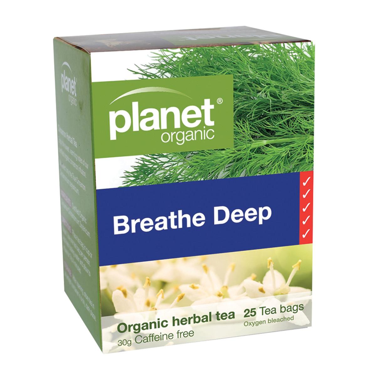 P/O BREATHE DEEP TEA 25TB