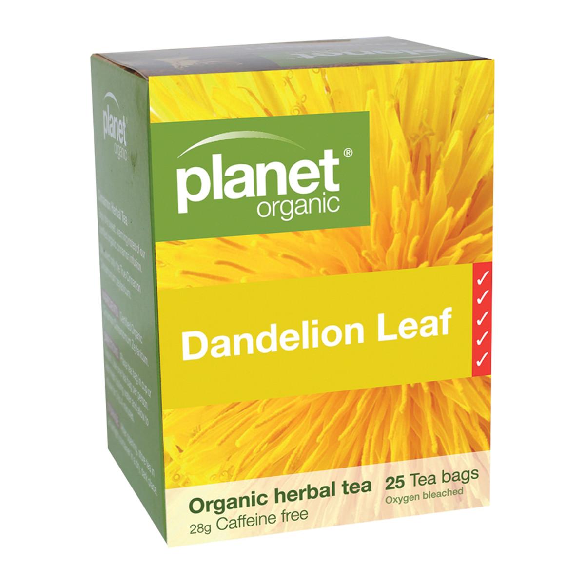 PLANET ORGANIC TEA DANDELION LEAF ORG 25TB