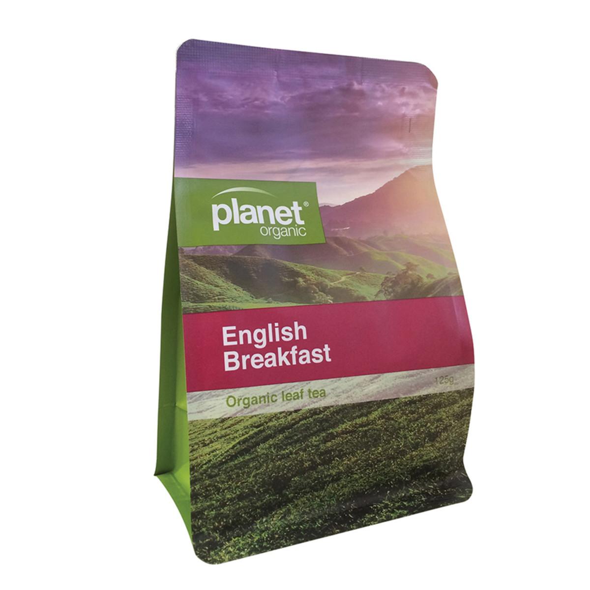 PLANET ORGANIC ENGLISH BREAKFAST LEAF TEA 125G