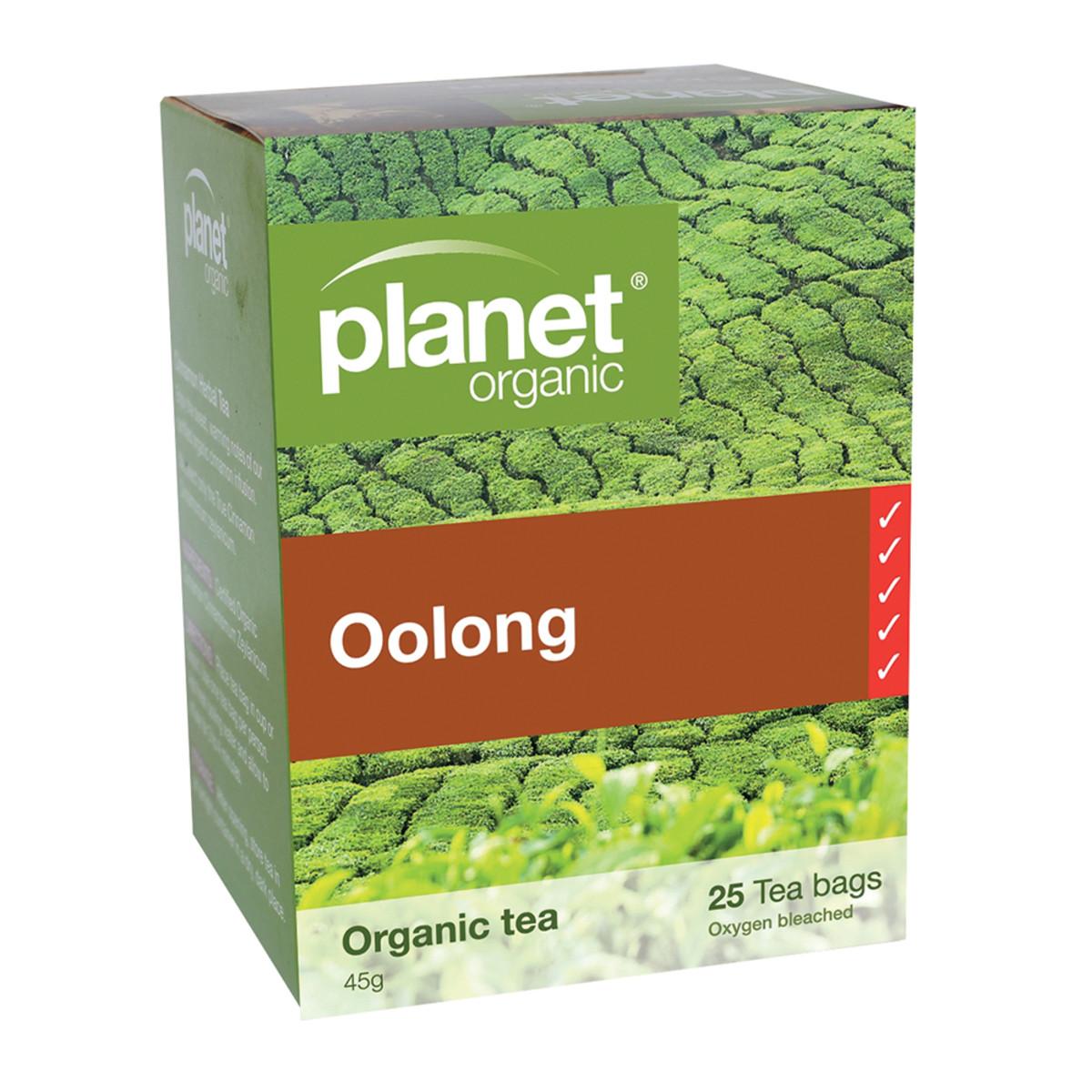 PLANET ORGANIC OOLONG TEA ORG 25TB