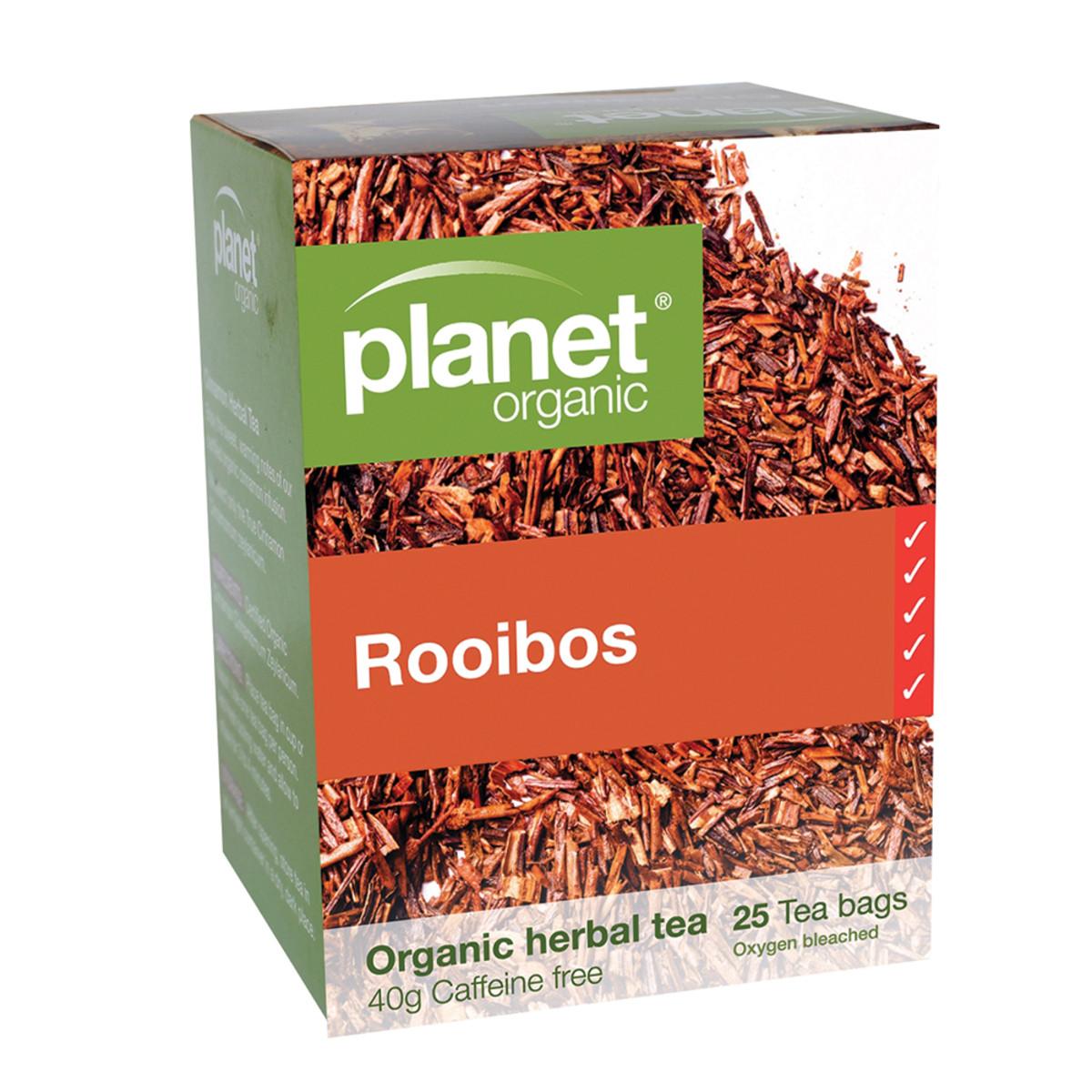 PLANET ORGANIC ROOIBOS TEA ORG 25TB