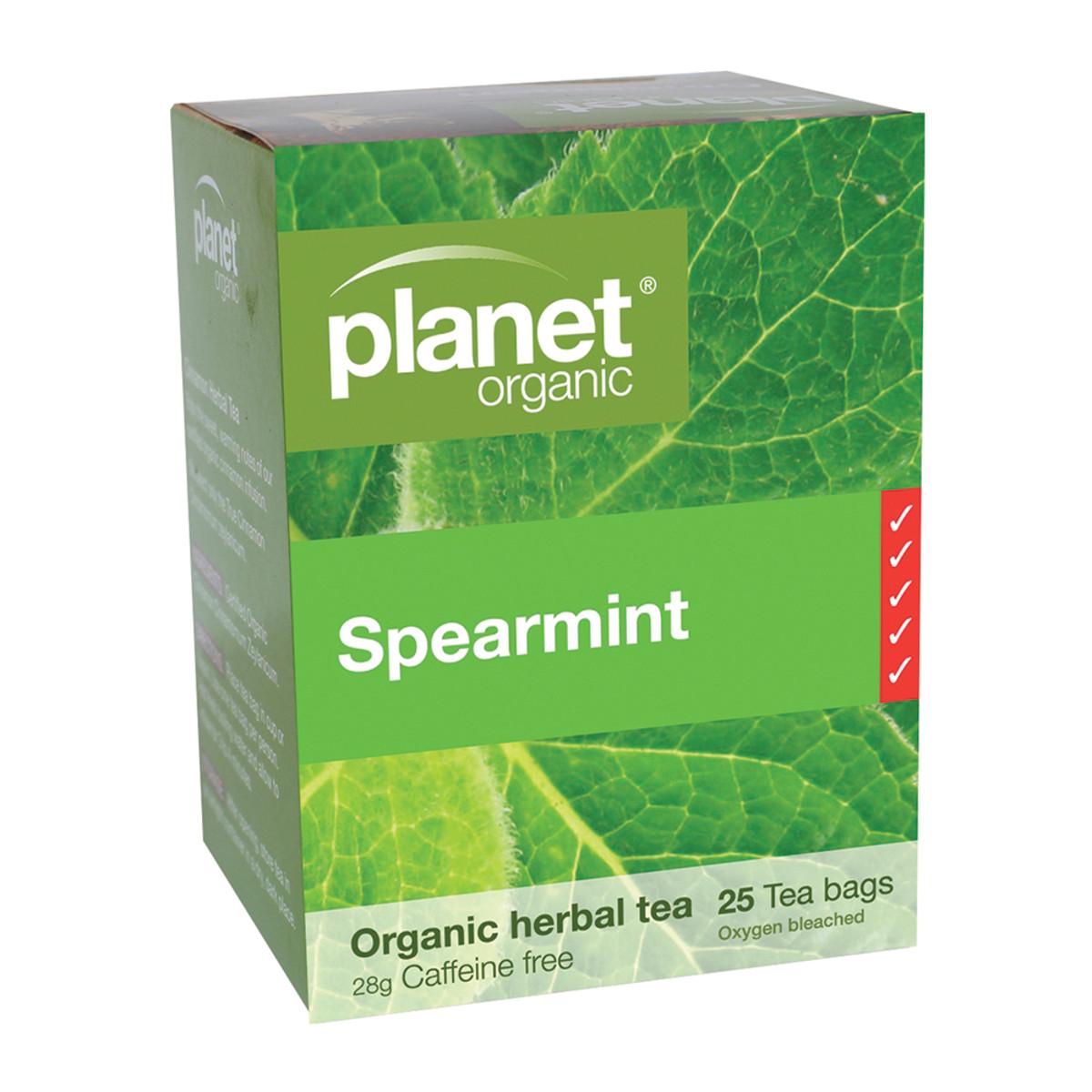PLANET ORGANIC SPEARMINT TEA ORG 25TB