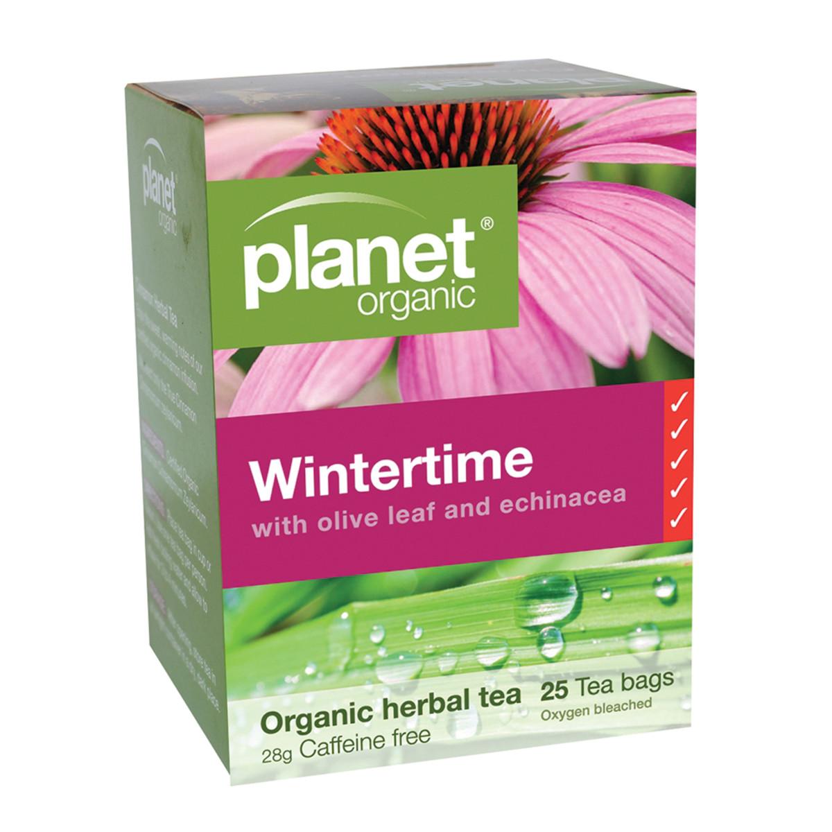 PLANET ORGANIC WINTERTIME TEA ORG 25TB