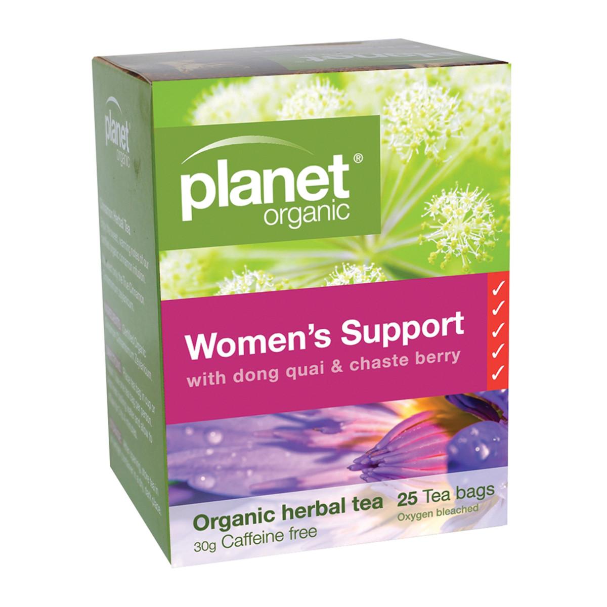 PLANET ORGANIC WOMENS SUPPORT 25TB