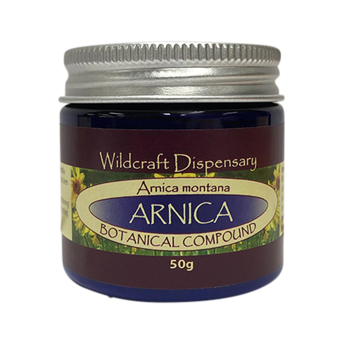 WILDCRAFT DISPENSARY ARNICA OINTMENT 50G