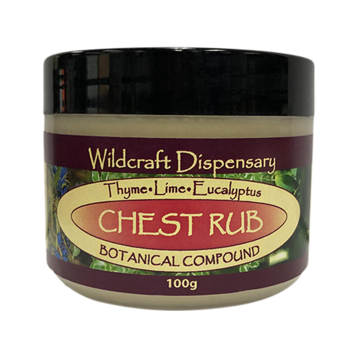 WILDCRAFT DISPENSARY CHEST RUB 100G