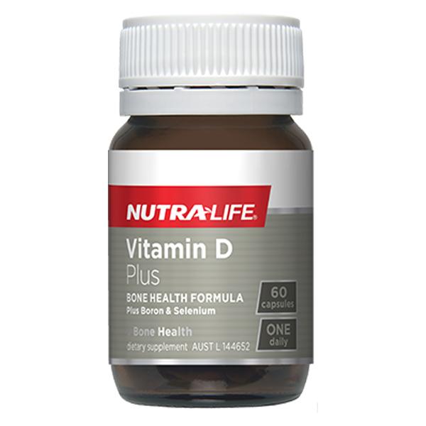 NUTRALIFE VITAMIN D PLUS 60C