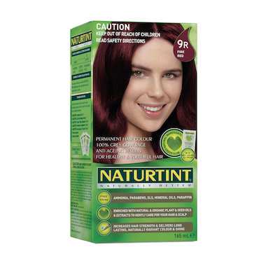 NATURTINT PERMANENT HAIR COLOUR – 9R FIRE RED