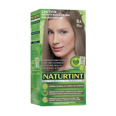 NATURTINT PERMANENT HAIR COLOUR – 8A ASH BLONDE