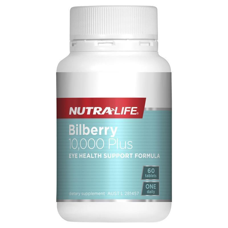 NUTRALIFE BILBERRY 10,000 + EYE COMPLEX 60T