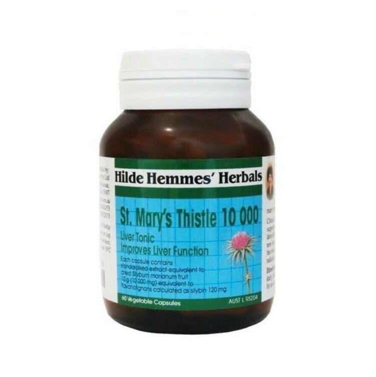 HILDE HEMMES ST MARY'S THISTLE 10,000MG 60C